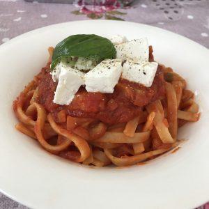 Pasta al ragù vegetariano - Caffè Cannella