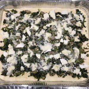 Parigina broccoli e salsiccia - Caffè Cannella