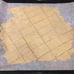 Crackers con esubero di pasta madre 1