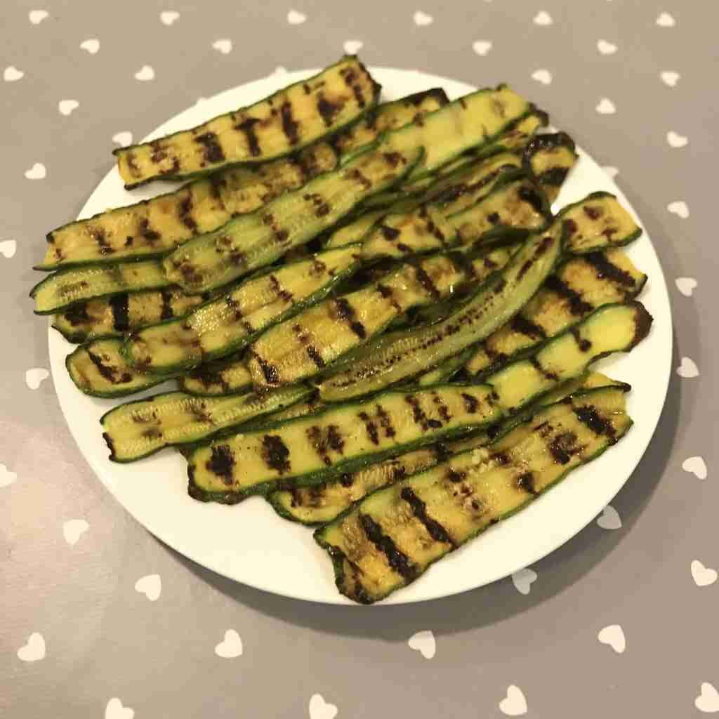 Zucchine arrostite