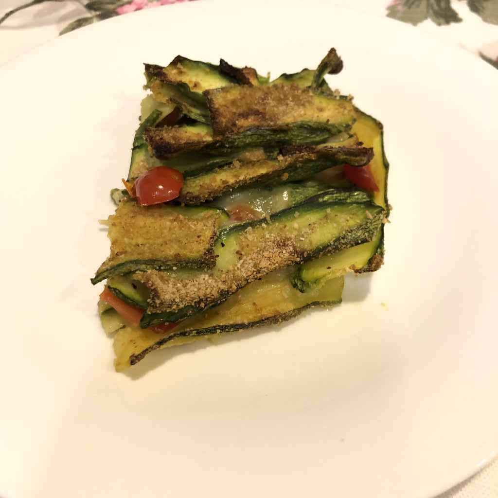 Tortino di zucchine al forno (senza precottura)